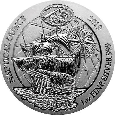 Ag inv.mince Victoria-Nautical Ounce 1Oz 2019