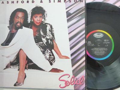 ORIGINAL hit LP : ASHFORD AND SIMPSON - Solid/ Capitol 1984 perfekt s