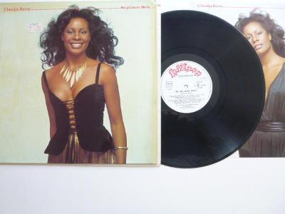 ORIGINAL LP: CLAUDJA BARRY The Girl Most Likely + plakátek / Lollipop