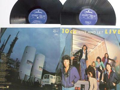 Dvojalbum 10 CC -  Live And Let Live / I´m Not In Love a další hity