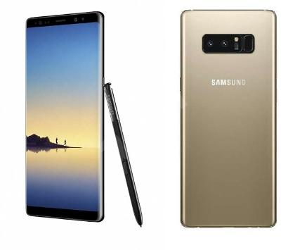 Mobilní telefon Samsung Galaxy Note8 zlatý