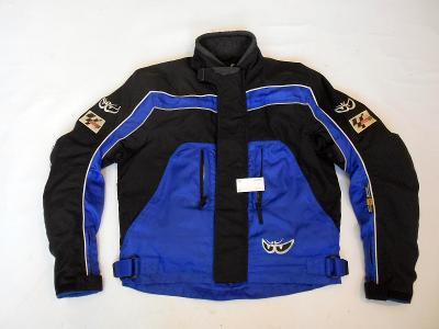 Textilní bunda vel.?, chrániče ramen a  zad, odep. termovložka
