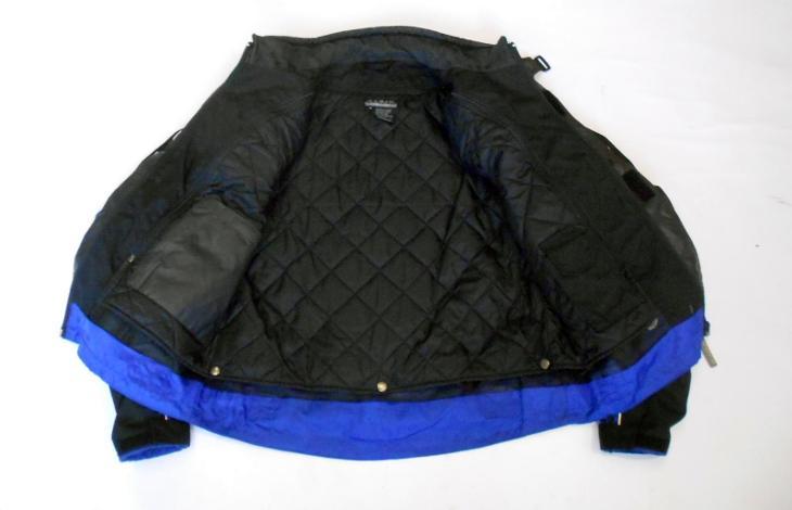 Textilní bunda vel.?, chrániče ramen a  zad, odep. termovložka - Náhradní díly a příslušenství pro motocykly