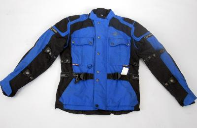 "Textilní bunda""ROAD"" vel. M/50, Chrániče, odep.termovložka"