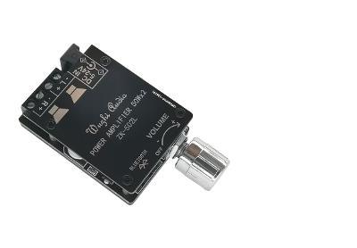 Bluetooth 5.0 bezdrátový zvukový digitální zesilovač 2X50W /12V-24V