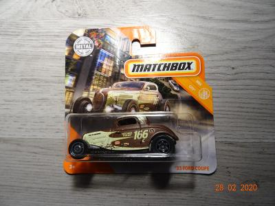 MATCHBOX 33 FORD COUPE