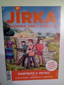 Komiks Jirka Král, č. 37, pěkný stav