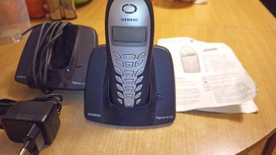 Bezdrátový telefon SIEMENS GIGASET AS 140