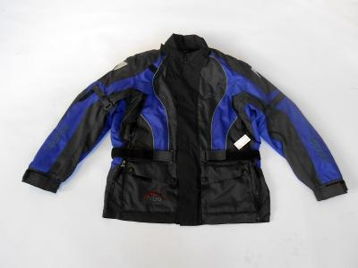 "Textilní bunda ""ORINA"" vel. M, chrániče, odep.termovložka"