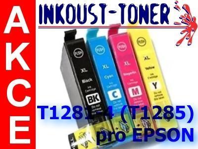 Sada pro Epson SX125, SX130, SX230, SX235 - 4ks