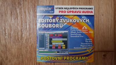 Editory zvukových souborů, CD