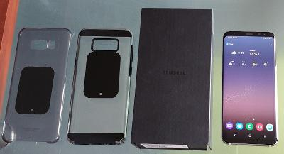 Mobil Samsung Galaxy S8+ / S8 Plus SM-G955F +2kryty.Velmi dobry stav A
