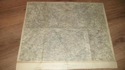 Stará vojenská mapa 1927-Plzeň-Mirošov-Hvožďany-Blovice-Šťahlavy