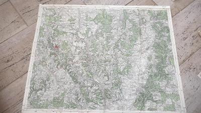Stará vojenská mapa 1936--Jevíčko-Svitavka-Olešnice-Křenov-Kunšťát