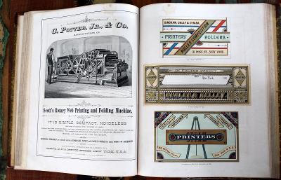 The American model printer, Kelly & Bartholomew