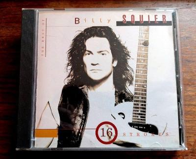BILLY SQUIER -16 Strokes: The Best Of Billy Squier - PRESS 1995 CANADA