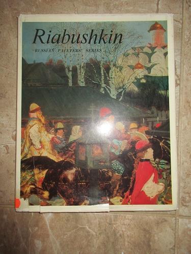 STARÁ KNIHA V RUŠTINĚ  RISBUSHKIN !!!