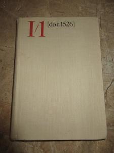 STARÁ KNIHA PŘEHLED ČESKOSLOVENSKÝCH DĚJIN DO r.1526 JAROSLAV PURŠ !!!