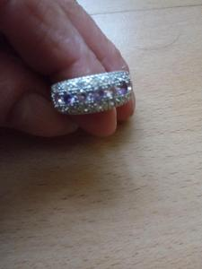 prsten sterlingové stříbro vel 8