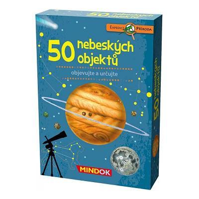 společenská hra Mindok Expedice příroda: 50 nebeských objektů