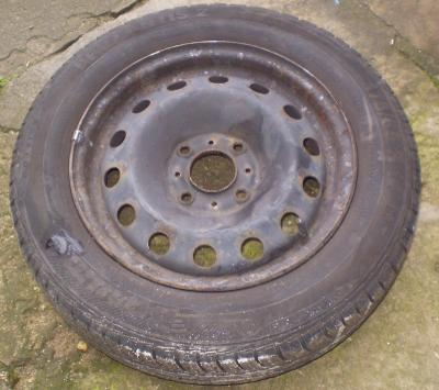 4x letní pneu s disky