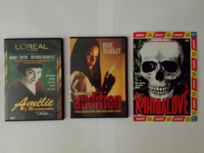 3x DVD různý žánr viz. obrázek