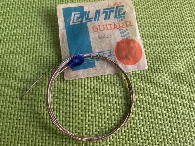 Stará nepoužitá struna Elite na banjo