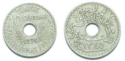 Tunis 10 C 1926