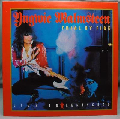 Yngwie Malmsteen ‎– Trial By Fire 1989 Germany Vinyl LP 1.press