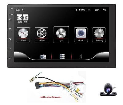 Navigace 2din UNIVERZÁLNÍ RADIO ANDROID 9.0, WIFI GPS USB
