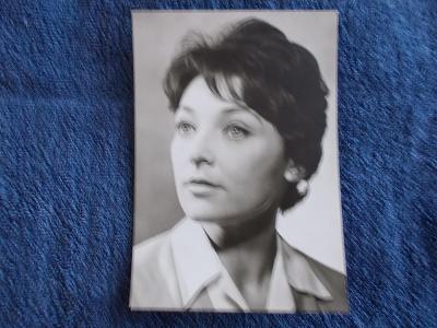 Foto Rosegnal  pohlednice Československo herec Jana Štěpánková