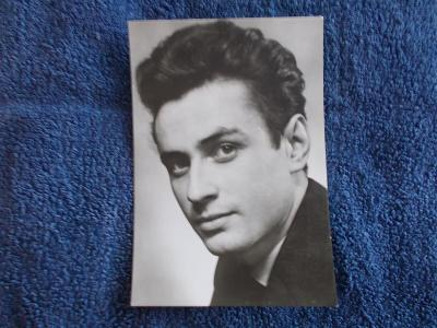 Foto Rosegnal  pohlednice Československo herec Jan Šmíd