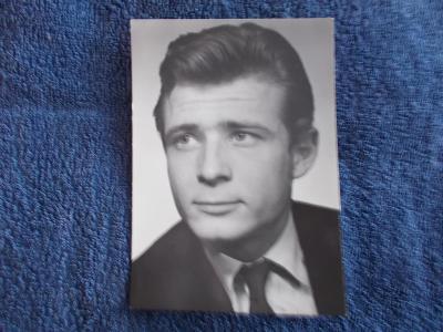Foto Rosegnal  pohlednice Československo herec Jiří Kodet