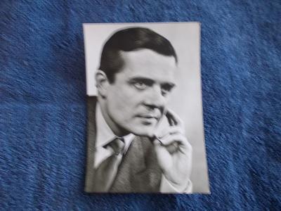 Foto Rosegnal  pohlednice Československo herec Václav Voska