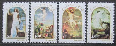 Tonga 2014 Velikonoce, umění Mi# 1965-68 Kat 22€ 1343