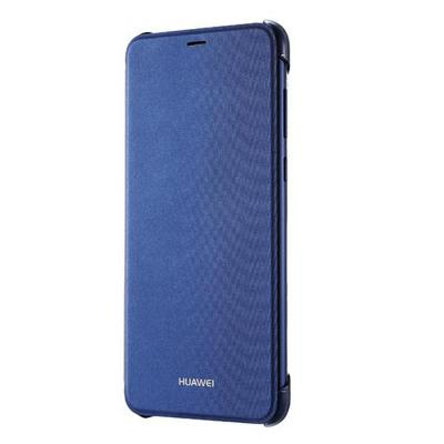 Original Folio Pouzdro Blue pro Huawei P Smart  2018 + ochranné sklo