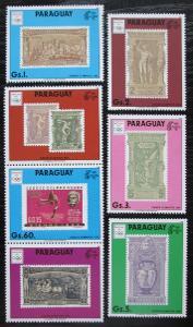 Paraguay 1990 LOH Barcelona s kupónem Mi# 4445-49 Kat 17€ 1322