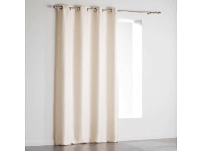 Krémová okenní závěs Velvet PALEO 140 x 240 cm