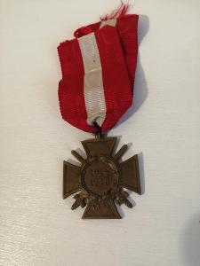 Vyznamenání 1914 - 1918