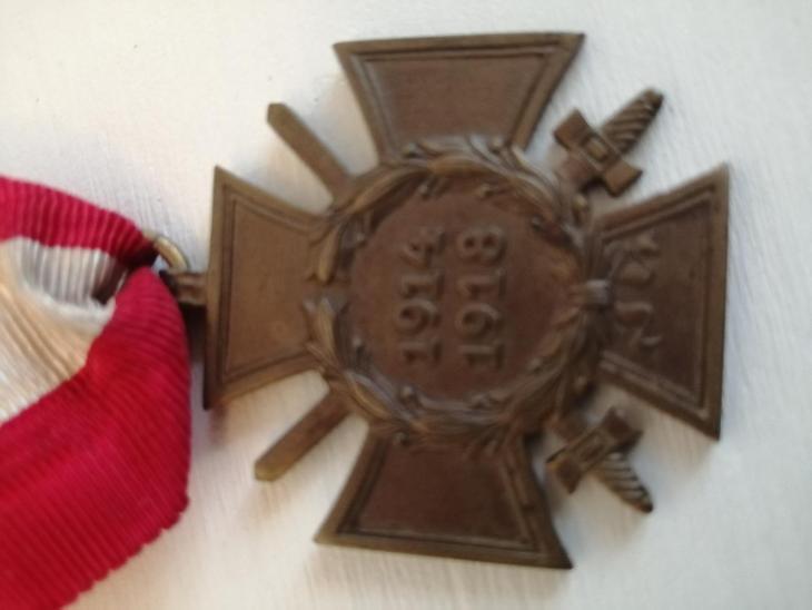Vyznamenání 1914 - 1918 - Faleristika