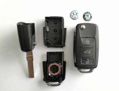 Vystřelovací autoklíč : VW, Škoda, Třítlačítkový