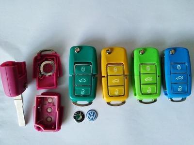 Vystřelovací autoklíč : VW, Škoda barevný