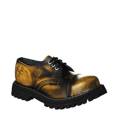 Boty Steel Boots Yellow/Black, vel. 37 VÝPRODEJ, NOVÉ, ZÁRUKA!