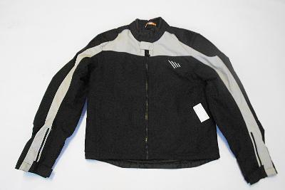 Textilní bunda vel.50, kapsy na chrániče, odep.termovložka