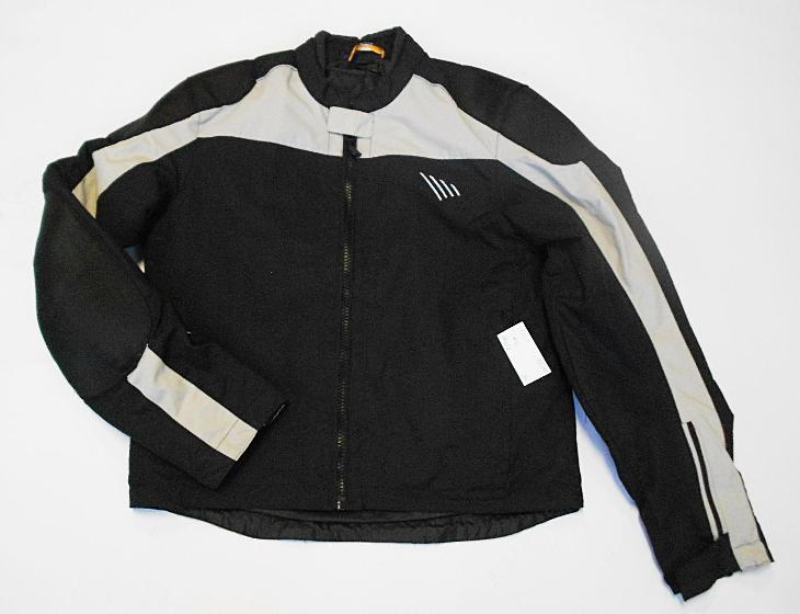 Textilní bunda vel.50, kapsy na chrániče, odep.termovložka - Náhradní díly a příslušenství pro motocykly