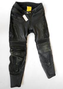 """Kožené kalhoty""""STREETFIGHTER"""" vel.48/S, chrániče kolen"""