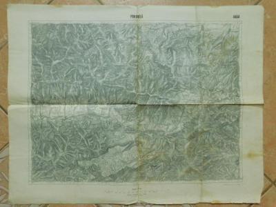 Legie - Pleský,Švec - Vojenská Mapa - 1924 - Pohorelá - Slovensko