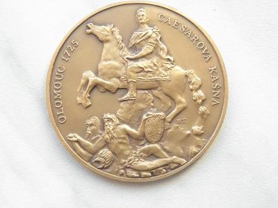 Medaile ČNS OLOMOUC 80. VÝROČÍ POBOČKY 1929 - 2009