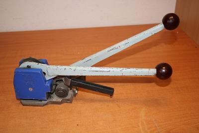 Bezesponkový páskovač BO-4 na ocelovou pásku