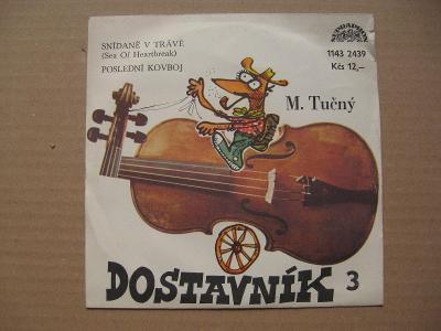 DOSTAVNÍK Tučný M. 1979 cover Jan Vyčítal
